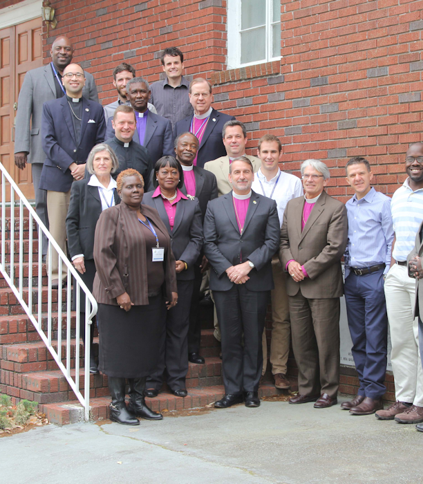 Attendees of Conversation on Race and Mission, Apr 2015